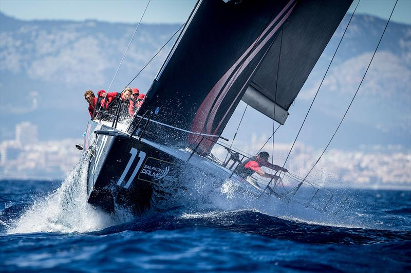 Phoenix, new TP52 leader - 16th Sail Racing PalmaVela - Day 2 - photo © Maria Muina