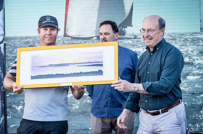 Quantum Racing win TP52 Class at the 16th Sail Racing PalmaVela - photo © Maria Muina