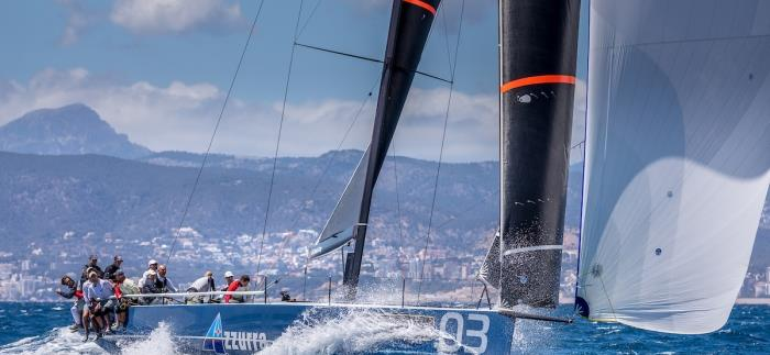 TP52 Class at the 16th Sail Racing PalmaVela - photo © Nico Martinez / www.MartinezStudio.es