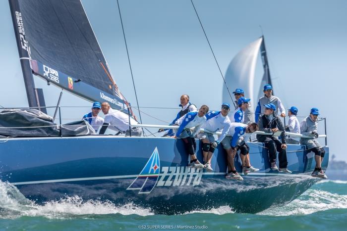 Azzurra ready for the Cascais 52 Super Series Sailing Week