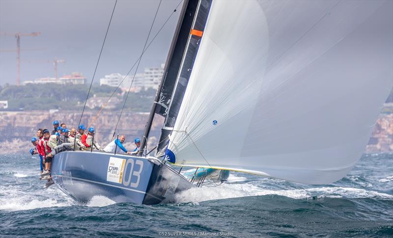 Azzurra - Day 1 - Cascais 52 Super Series Sailing Week - photo © Martinez Studio / 52 Super Series