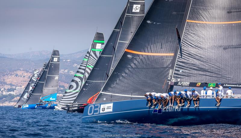 Final day - Rolex TP52 World Championship on Bay of Palma - photo © Nico Martinez / 52 Super Series