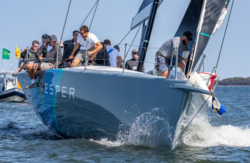 David Team's TP52 Vesper - 2020 NYYC Race Week at Newport, day 1 - photo © Rolex / Daniel Forster