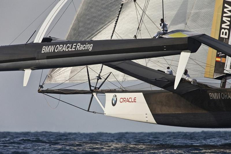 BMW Oracle Racing photo copyright Guilain Grenier / www.oracleracing.com taken at  and featuring the Trimaran class