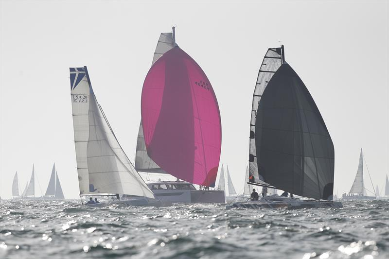 Round the Island Race 2019 start - photo © Paul Wyeth