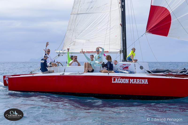 Tryst on Caribbean Multihull Challenge day 1 - photo © Edward Penagos