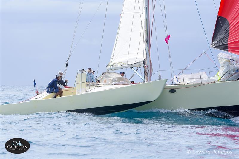 Le Tri on Caribbean Multihull Challenge day 1 - photo © Edward Penagos