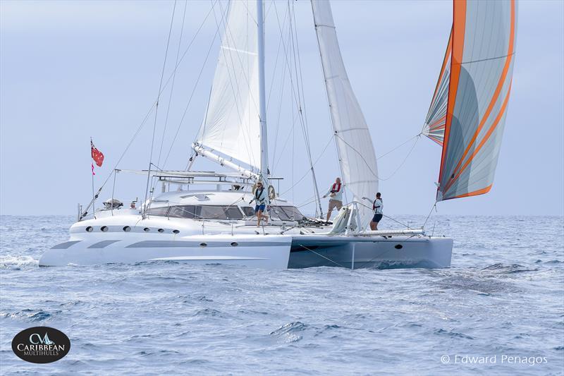 Jetwave Avalon on Caribbean Multihull Challenge day 1 - photo © Edward Penagos