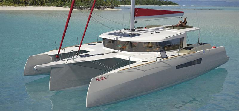 New NEEL 47 - photo © Multihull Solutions