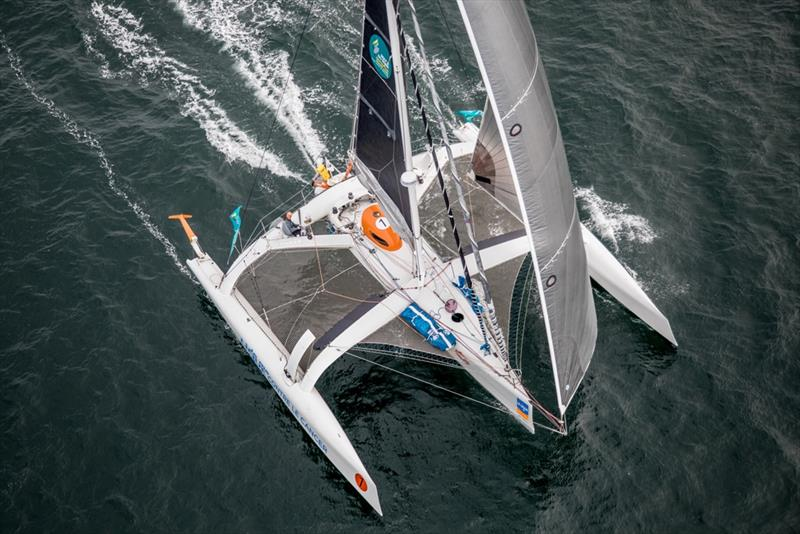 The Rhum Multi class and the sailing superstar in its midst