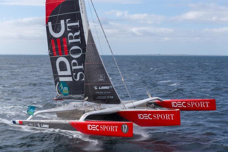 IDEC Sport, skipper Francis Joyon - photo © Jean Marie Liot / ALEA / IDEC SPORT