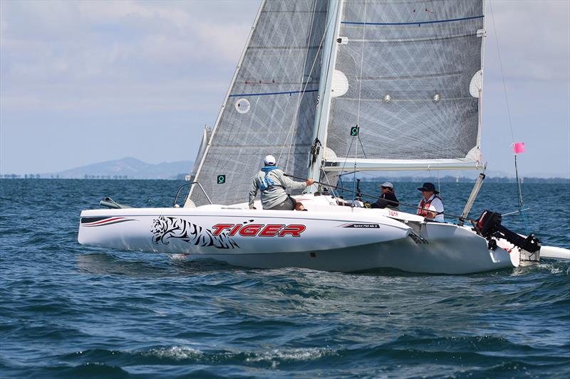 Geoff Floyd's Tiger 2nd OMR on day 2 - Australian Yachting Championship 2019 - photo © Caitlin Baxter