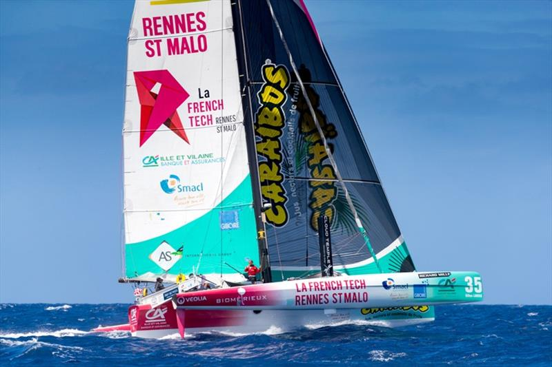 La French Tech - Rennes Saint-Malo  Les Voiles de St. Barth Richard Mille - photo © Christophe Jouany