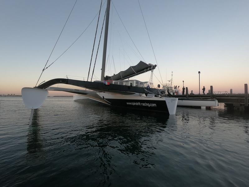 Spindrift 2 - Jules Verne Trophy record attempt - photo © Christophe Espagnon / Spindrift racing