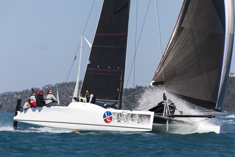 Paul Mitchell's Ullman Sails was the standout performer last year - Airlie Beach Race Week photo copyright Andrea Francolini taken at Whitsunday Sailing Club and featuring the Trimaran class