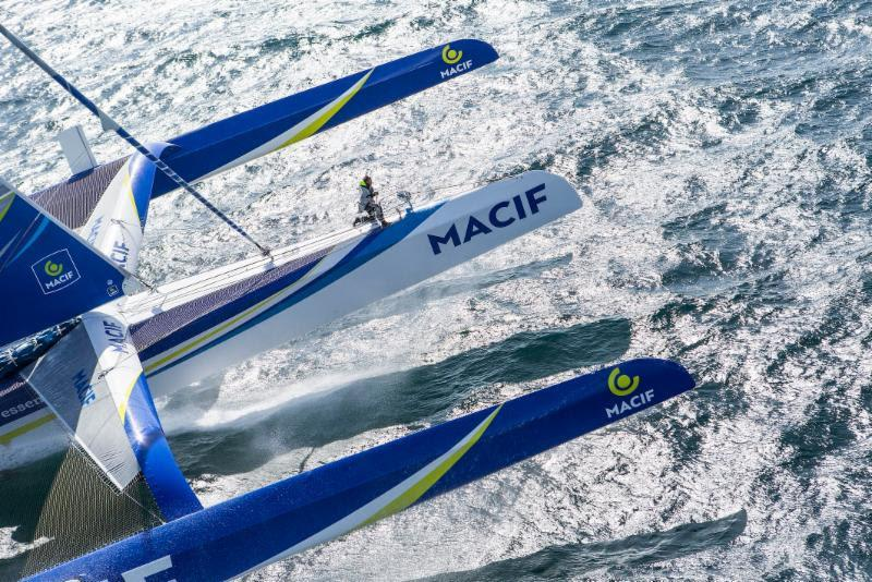 Ultimes threaten Rolex Fastnet Race record destruction