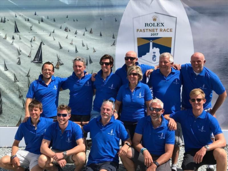 10th Fastnet on their First 47.7 for the Goubau family (Father, Mother and three sons) from Ghent, Belgium who have achieved three podium class places in previous editions - photo © Goubau