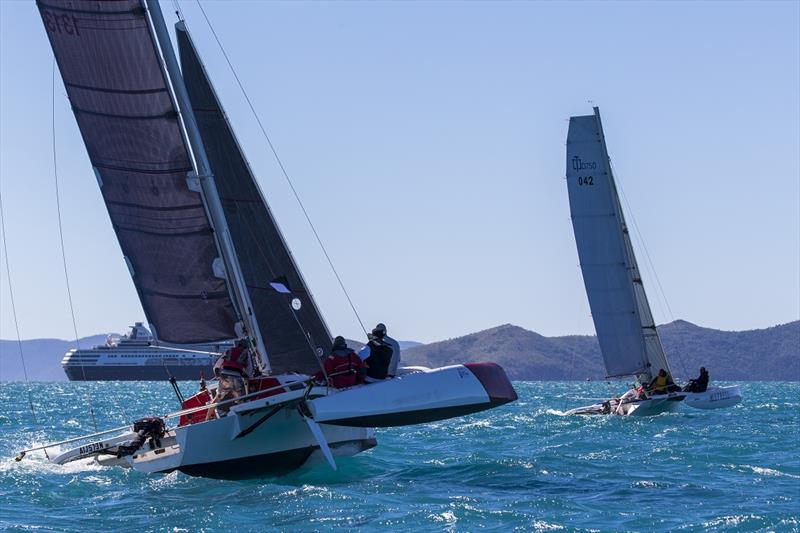 Evil Gnome won Divsion 2 Australian Multihull Champs - 2019 Airlie Beach Race Week - photo © Andrea Francolini