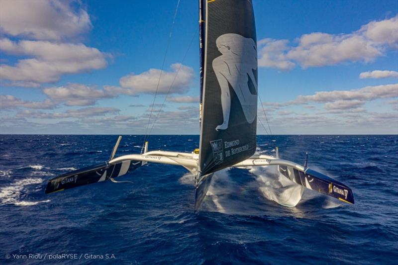 Maxi Edmond de Rothschild - photo © Yann Riou / polaRYSE / Gitana S.A.