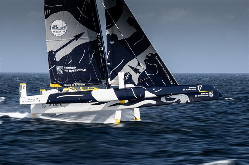 The Maxi Edmond de Rothschild - Brest Atlantique - photo © Eloi Stichelbaut / polaRYSE / Gitana S.A.