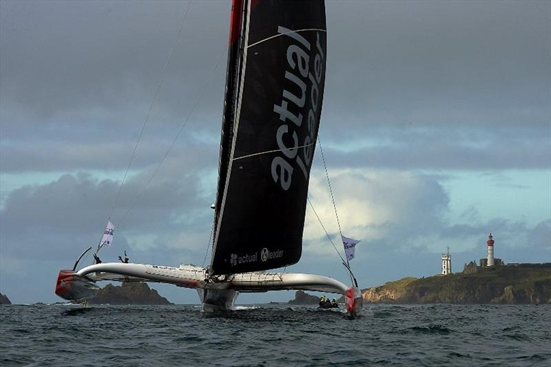 Actual Leader completes the Brest Atlantiques podium - photo © Arnaud Pilpré / Brest Atlantiques