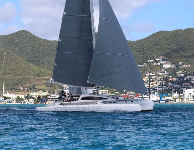 Ineffable racing in the 2019 Caribbean Multihull Challenge - photo © Image courtesy of Caribbean Multihull Challenge