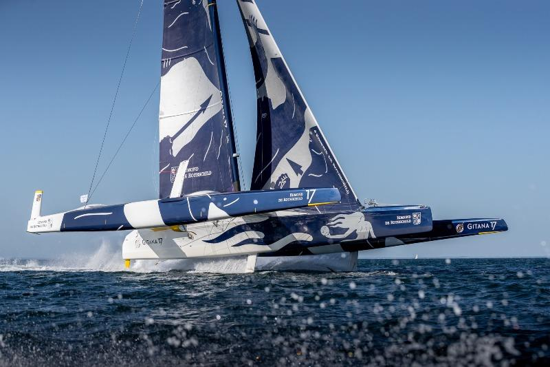 The Maxi Edmond De Rothschild Takes The Win In The Drheam Cup