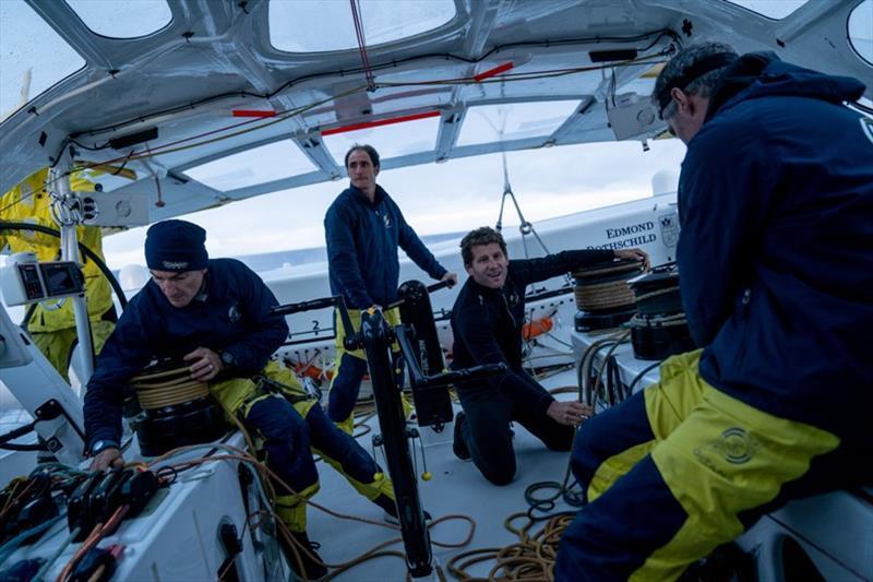Maxi Edmond de Rothschild crew - photo © Yann Riou / Polaryse / Gitana SA