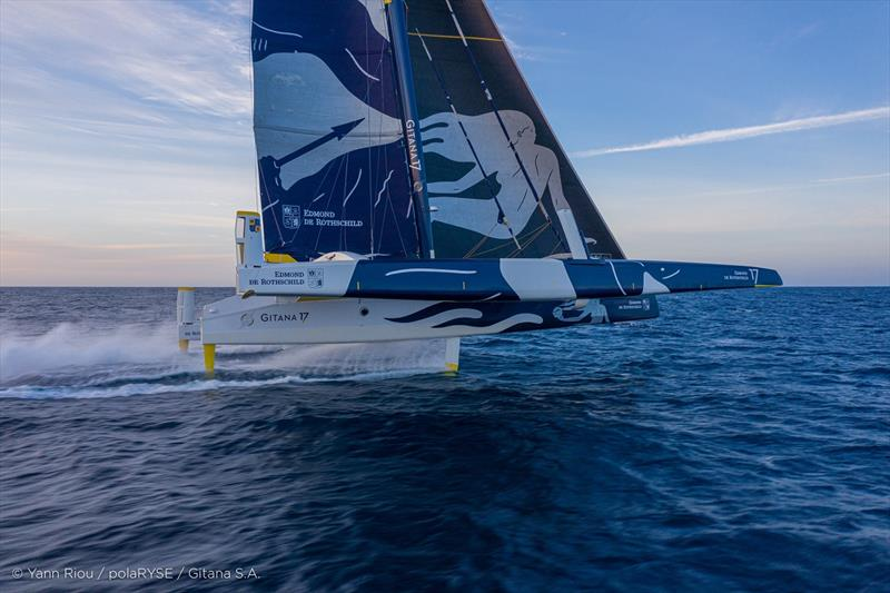 Maxi Edmond de Rothschild - photo © Y.Riou / polaRYSE / GITANA S.A