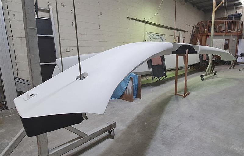 Aero fairing of the beams for El Toro - photo © Ben Kelly