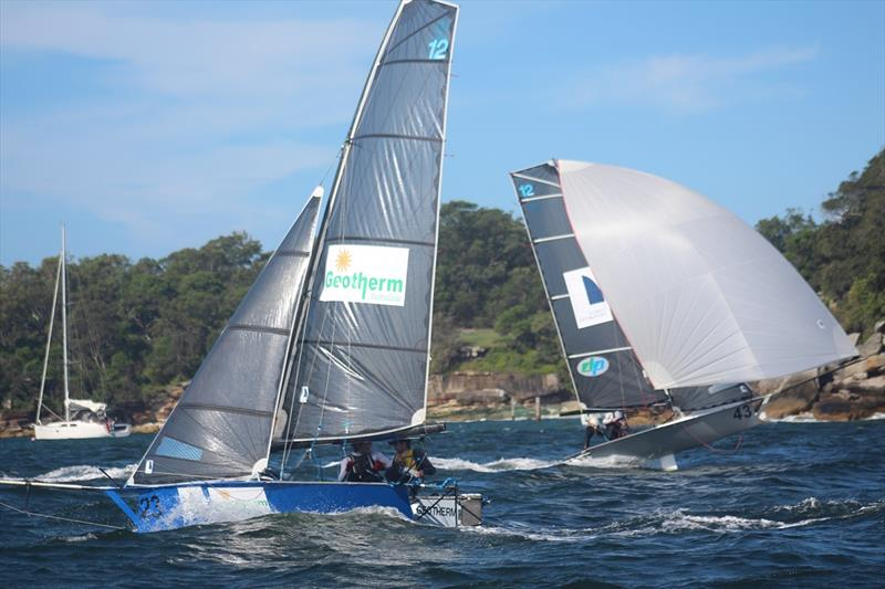 Geotherm versus Sydney Sailmakers - Your Move Conveyancing NSW Championship 2018 - photo © Vita Williams
