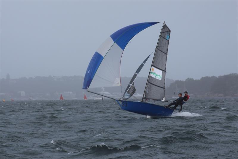 Geotherm in the groove - 12ft Skiff Interdominion - photo © Vita Williams