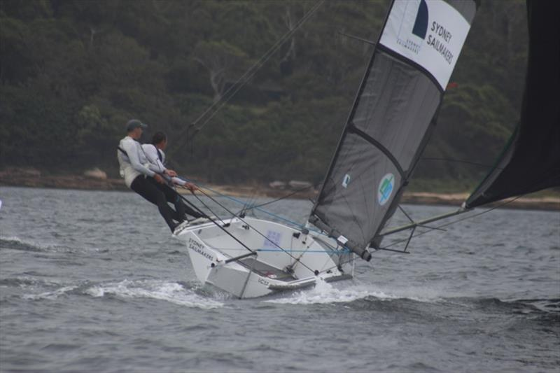 Sydney Sailmakers won one and was robbed in the other - 12ft Skiff Interdominion - photo © John Williams