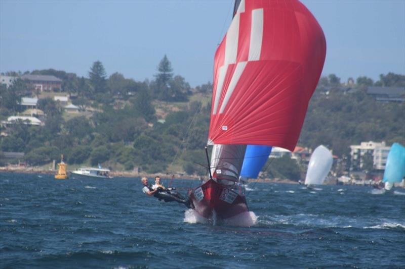 Red Energy was in top form -  - 12ft Skiff Interdominion Championship, Day 5 photo copyright John Williams taken at Sydney Flying Squadron and featuring the 12ft Skiff class