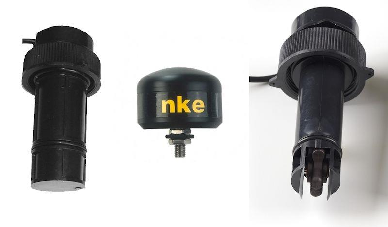 nke Marine Electronics: Depth Sensor, Fluxgate Compass, and Paddle Wheel Speed Sensor - photo © nke
