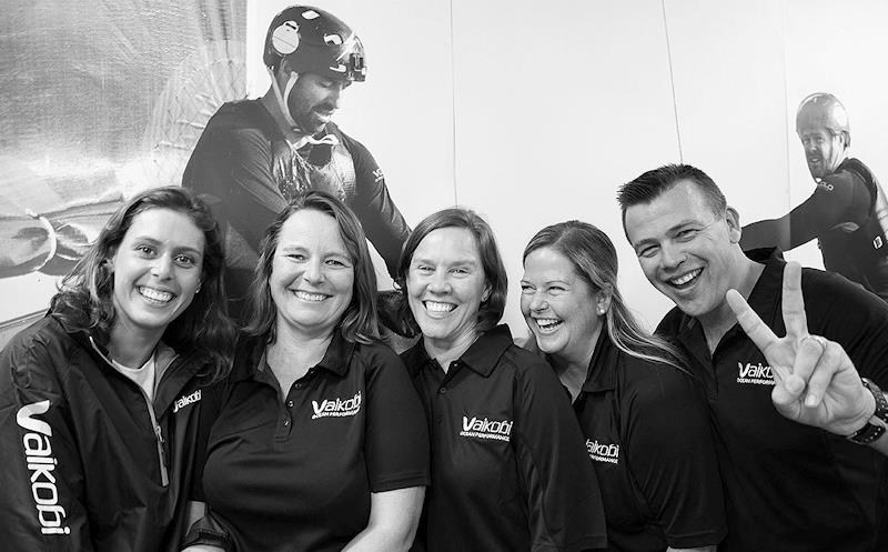 V is for Vaikobi - HQteam (LtoR) Maddie Spencer, Sarah Tallis, Paula Cansick, Adrienne Langley, Pat Langley - photo © John Curnow