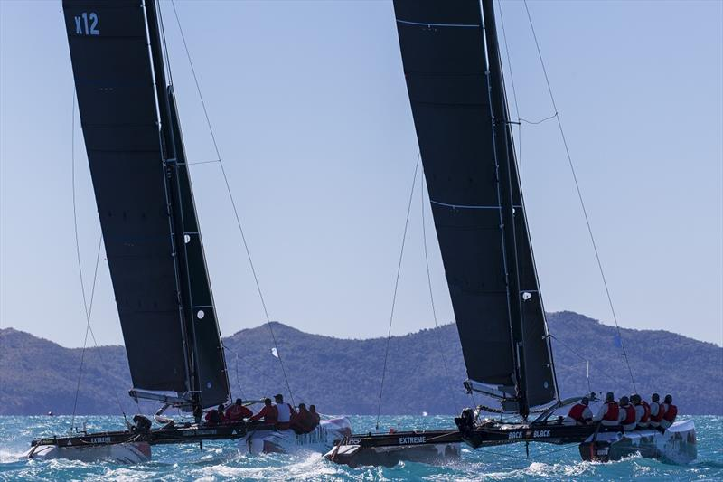 Back in Black and High Voltage - 2019 Airlie Beach Race Week - photo © Andrea Francolini