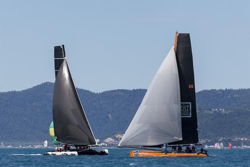 Back in Black and The Boatworks go head-to-head at a previous Airlie Beach Race Week - photo © Andrea Francolini