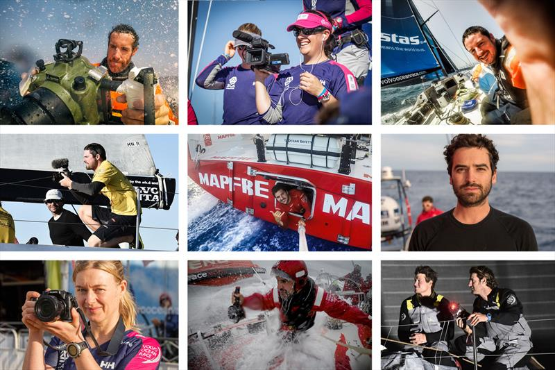 Onboard Reporters (OBR) during the Volvo Ocean Race - photo © Volvo Ocean Race