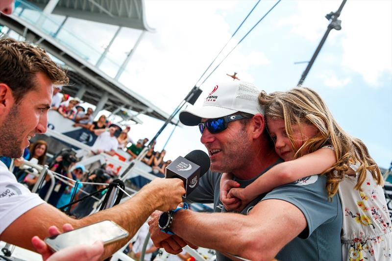 Victory for Dongfeng Race Team in the New Zealand Herald In-Port Race - photo © Ainhoa Sanchez / Volvo Ocean Race
