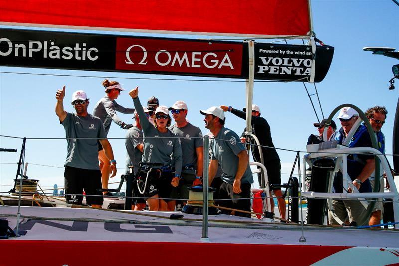 Victory for Dongfeng Race Team in the New Zealand Herald In-Port Race - photo © Jesus Renedo / Volvo Ocean Race