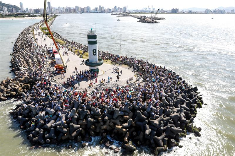 Volvo Ocean Race Leg 8 from Itajaí to Newport starts - photo © Ainhoa Sanchez / Volvo Ocean Race