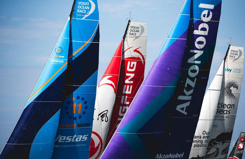 Volvo Ocean Race Leg 8 from Itajaí to Newport starts - photo © Pedro Martinez / Volvo Ocean Race