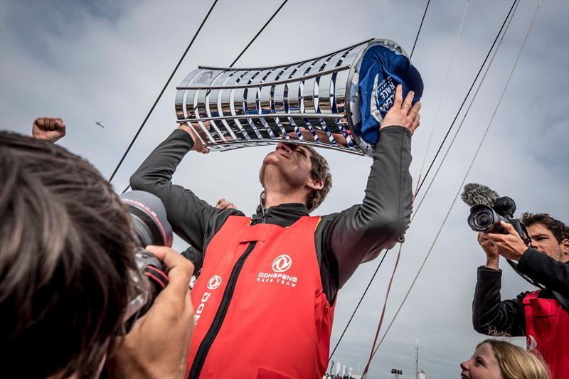 Dongfeng Race Team win the Volvo Ocean Race 2017-18 - photo © Ainhoa Sanchez / Volvo Ocean Race