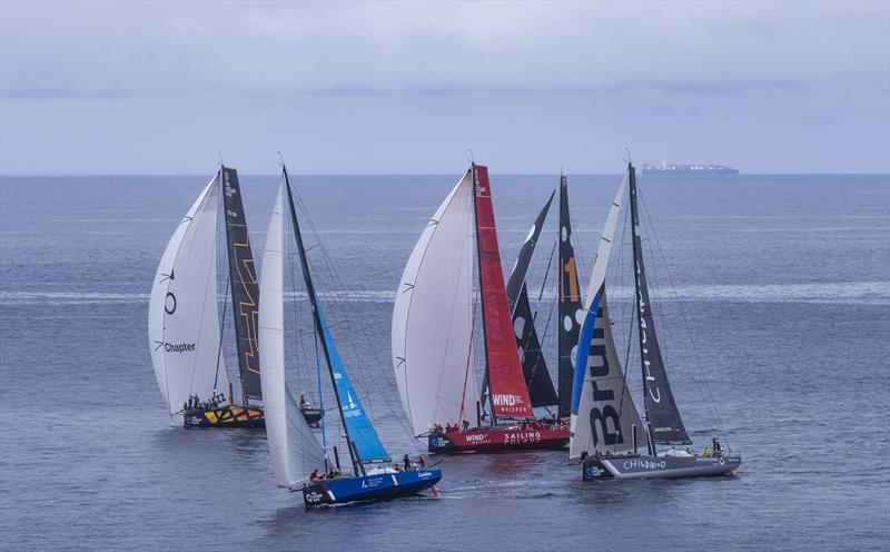 The Ocean Race Europe Leg 1 Finish in Cascais, Portugal - photo © Sailing Energy / The Ocean Race