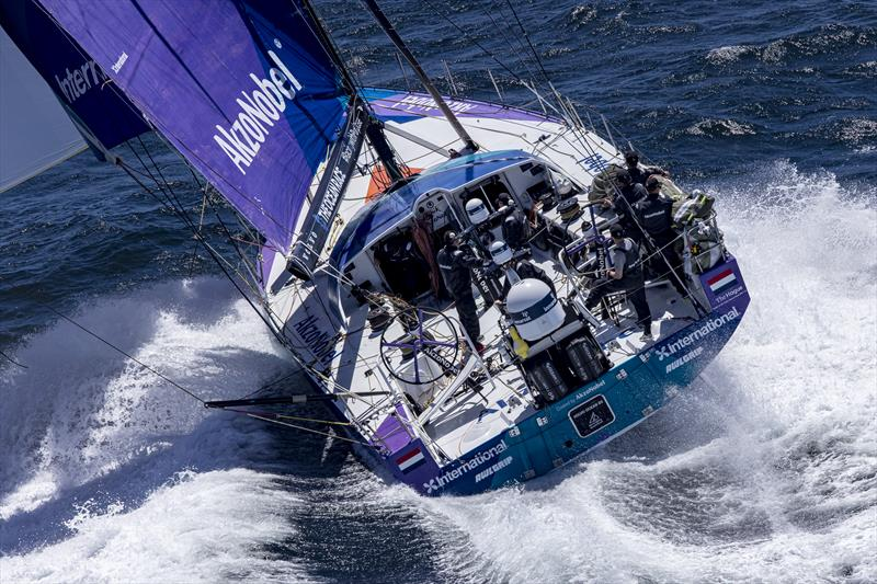 Racing down the coast of Portugal early in Leg 2 of The Ocean Race Europe from Cascais, Portugal, to Alicante, Spain - photo © Sailing Energy / The Ocean Race