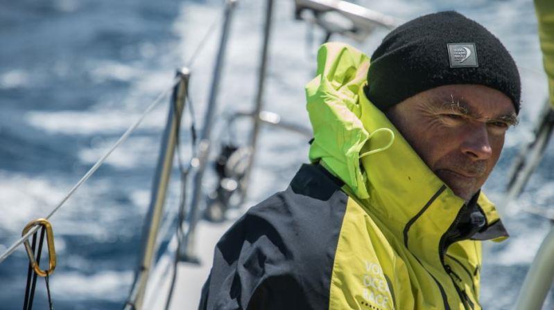 Bouwe Bekking – Volvo Ocean Race - photo © Rich Edwards / Volvo Ocean Race