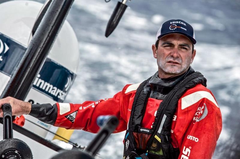 Charlie Enright, Vestas 11th Hour Racing - Leg 2, Volvo Ocean Race - photo © Martin Keruzore / Volvo Ocean Race