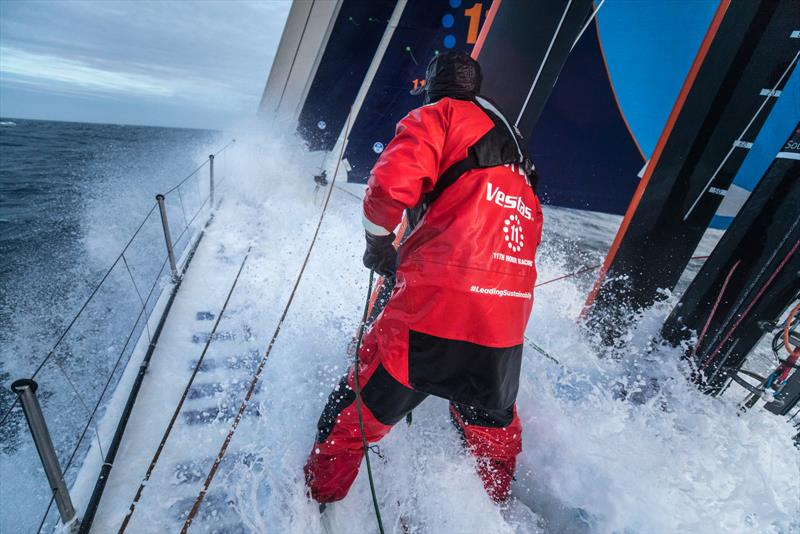 Leg 3, Cape Town to Melbourne, day 09, Southern Ocean sailing on board Vestas 11th Hour. photo copyright Sam Greenfield / Volvo Ocean Race taken at  and featuring the Volvo One-Design class