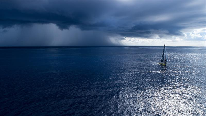 Leg 4, Melbourne to Hong Kong, day 09 on board Brunel . This cloud brought some wind. - photo © Yann Riou / Volvo Ocean Race